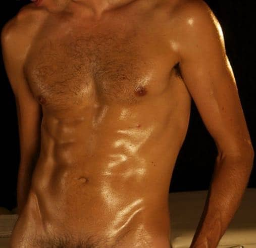 Nude male massage in Barcelona